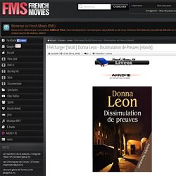 Donna Leon - Dissimulation de Preuves [ebook] » French-Movies.Net