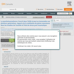 European Journal of Trauma & Dissociation - Présentation