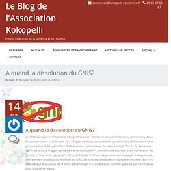 Le Blog de l'Association Kokopelli