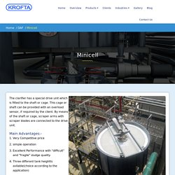 Minicell-Dissolved Air Flotation Clarifier