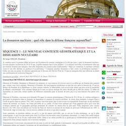 La dissuasion nucléaire : quel rôle dans la défense française aujourd'hui?