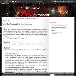 3.8 - La distance de la Lune, le retour - Le blog d'astronomie de Smartsmur