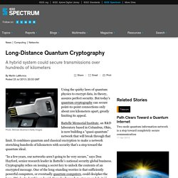 Long-Distance Quantum Cryptography