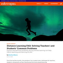 Distance Learning FAQ: Solving Teachers' and Students' Common Problems