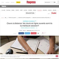 Cours à distance: les cours en ligne ouverts sont-ils la meilleure solution?
