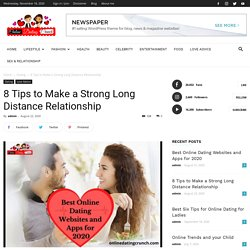 Long-Distance Relationship, 8 Tips How to make it strong