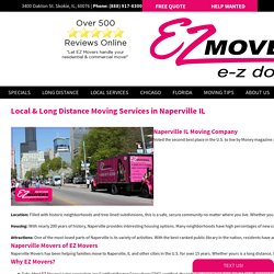 Affordable Moving Company in Naperville, IL - E-Z movers