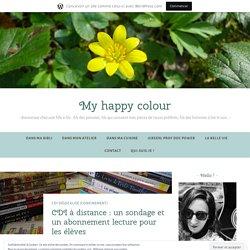 CDI à distance : un sondage et un abonnement lecture pour les élèves – Green is my happy colour