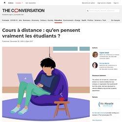Cours à distance : qu'en pensent vraiment les étudiants?