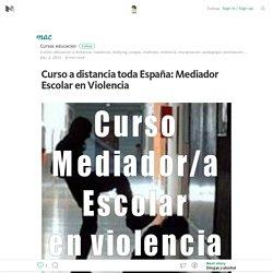 Curso a distancia toda España: Mediador Escolar en ...