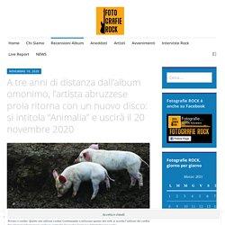"""A tre anni di distanza dall'album omonimo, l'artista abruzzese proia ritorna con un nuovo disco: si intitola """"Animalia"""" e uscirà il 20 novembre 2020 - Fotografie ROCK"""