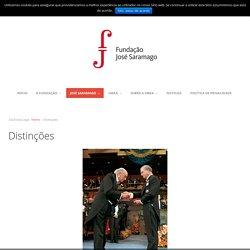 Distinções José Saramago