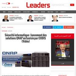 Distinction obligée en matière de sécurité informatique : CODIS et QNAP coopèrent!