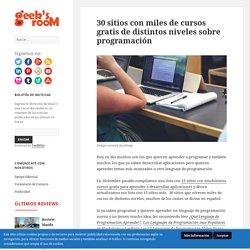 30 sitios con miles de cursos gratis de programación de distintos niveles