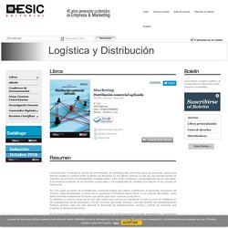 Distribución comercial aplicada - Marketing - Logística y Distribución