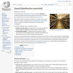 Lineal (distribución comercial)