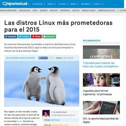 Distribuciones Linux que no te puedes perder este 2015