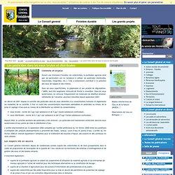 CONSEIL GENERAL DU FINISTERE - Les pesticides dans les eaux brutes et distribuées