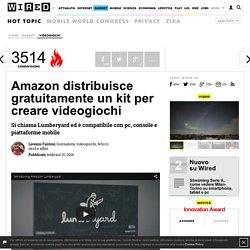 Amazon distribuisce gratuitamente un kit per creare videogiochi