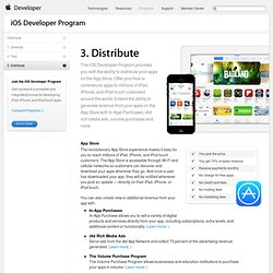 Distribute your App - iOS Developer Program