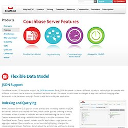 Couchbase: Server Features