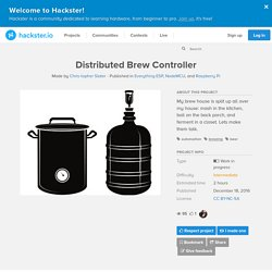 Distributed Brew Controller