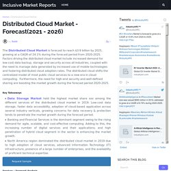 Distributed Cloud Market - Forecast(2021 - 2026)