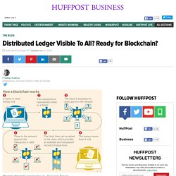 Distributed Ledger Visible To All? Ready for Blockchain?