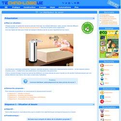 TP. Distributeur de savon (Automatisme)