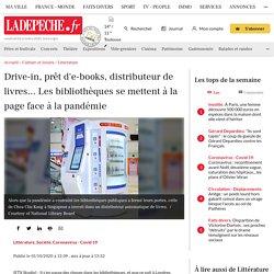 Drive-in, prêt d'e-books, distributeur de livres... Les bibliothèques se mettent à la page face à la pandémie