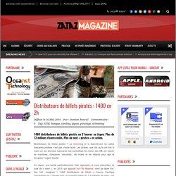 Distributeurs de billets piratés : 1400 en 2h - ZATAZ