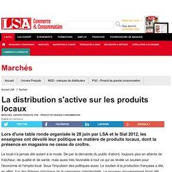 La distribution s'active sur les produits locaux - PGC - Produit de grande consommation