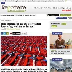 Voici comment la grande distribution écrase l'agriculture en France