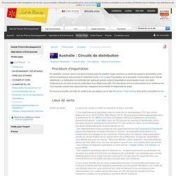 Circuits de distribution australiens - Australie