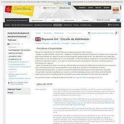 Circuits de distribution britanniques - Royaume Uni