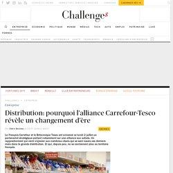 Distribution: pourquoi l'alliance Carrefour-Tesco révèle un changement d'ère
