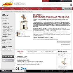Distribution d'air chaud Confort + poêle