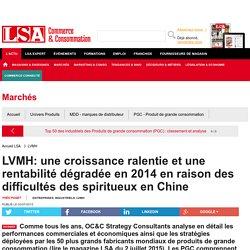 LVMH: une croissance ralentie et une... - Grande Distribution et consommation