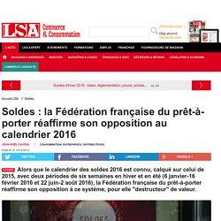 Soldes : la Fédération française du... - Grande Distribution et consommation
