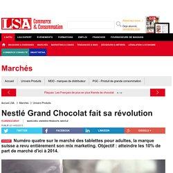 Nestlé Grand Chocolat fait sa révolution - Grande Distribution et consommation