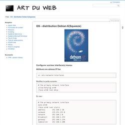 Art du Web : Configuration système Debian 6 (Squeeze)
