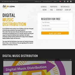 Digital Music distribution & music promotion
