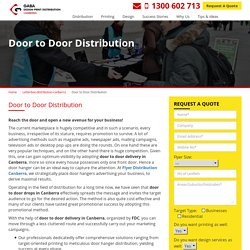 Door to Door Distribution - Marketing Solutions for any Business