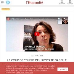 """Le coup de colère de l'avocate Isabelle Taraud : """"Halte à l'indécence de la distribution des dividendes en cette période!"""""""