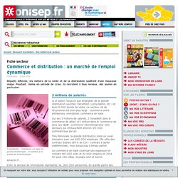 Commerce et distribution : un marché de l'emploi dynamique