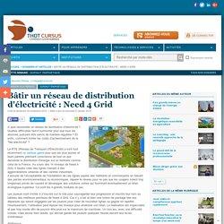 Bâtir un réseau de distribution d'électricité : Need 4 Grid