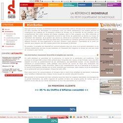 Distribution du petit électroménager SEB : adaptée aux marchés