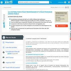 La distribution d'électroménager et d'électronique grand public