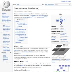 Mer (software distribution)