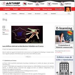 Les chiffres clefs de la distribution hôtelière en France - Artiref
